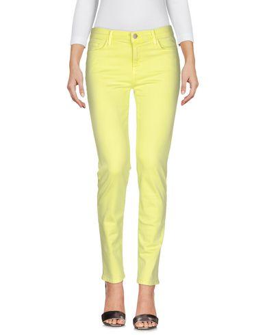 Купить Джинсовые брюки кислотно-зеленого цвета