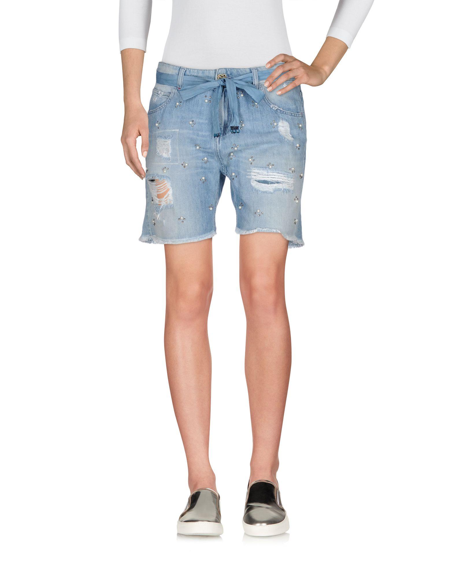 TWIN-SET JEANS Джинсовые шорты шорты джинсовые lonsdale lonsdale lo789emcdg82