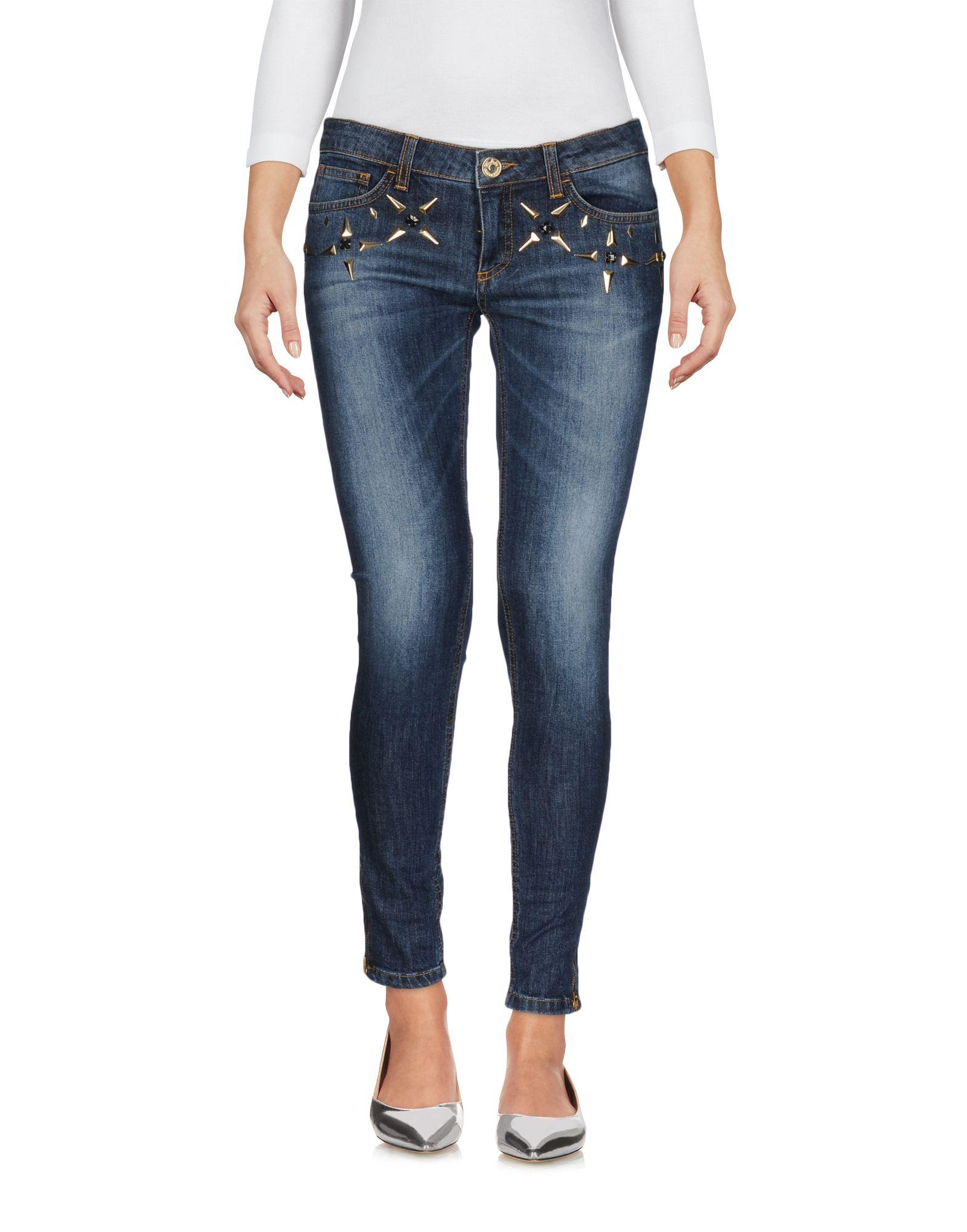 GLAM CRISTINAEFFE Джинсовые брюки недорго, оригинальная цена