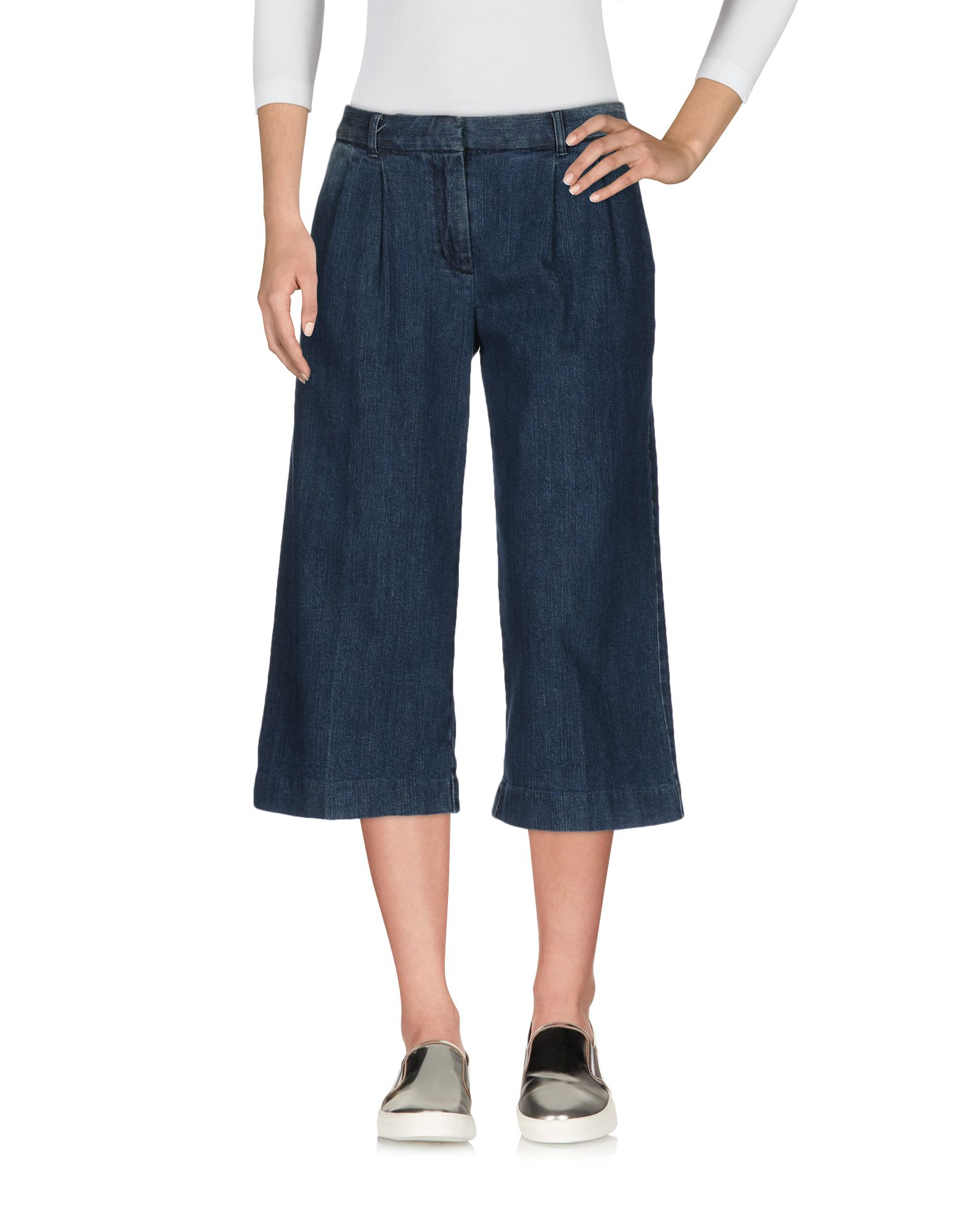 цена MICHAEL MICHAEL KORS Джинсовые брюки-капри онлайн в 2017 году