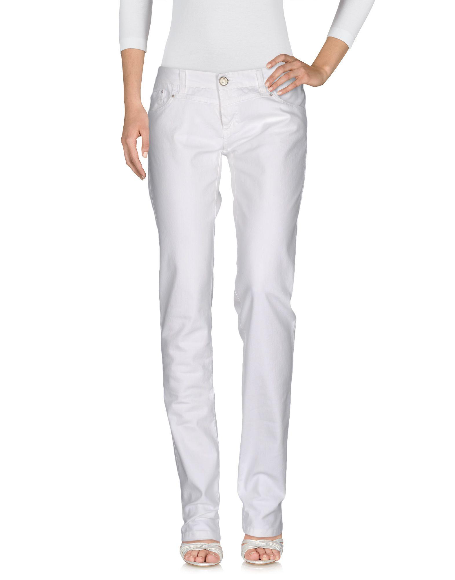 ANIYE BY Damen Jeanshose Farbe Weiß Größe 8