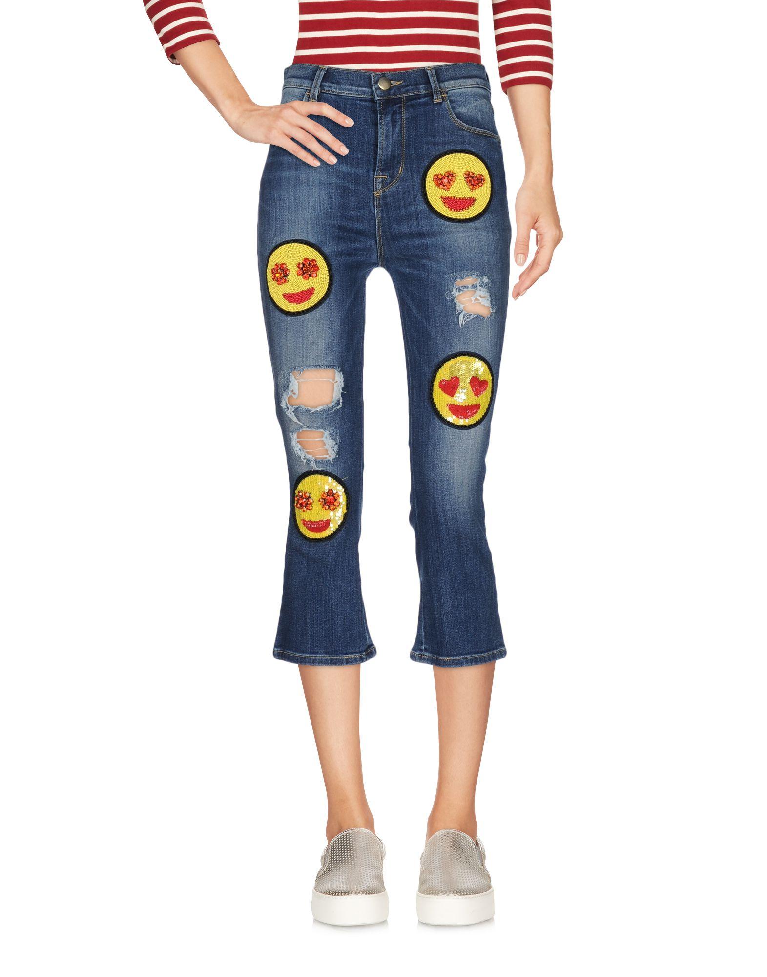 цена WE_ARE_99 Джинсовые брюки-капри онлайн в 2017 году