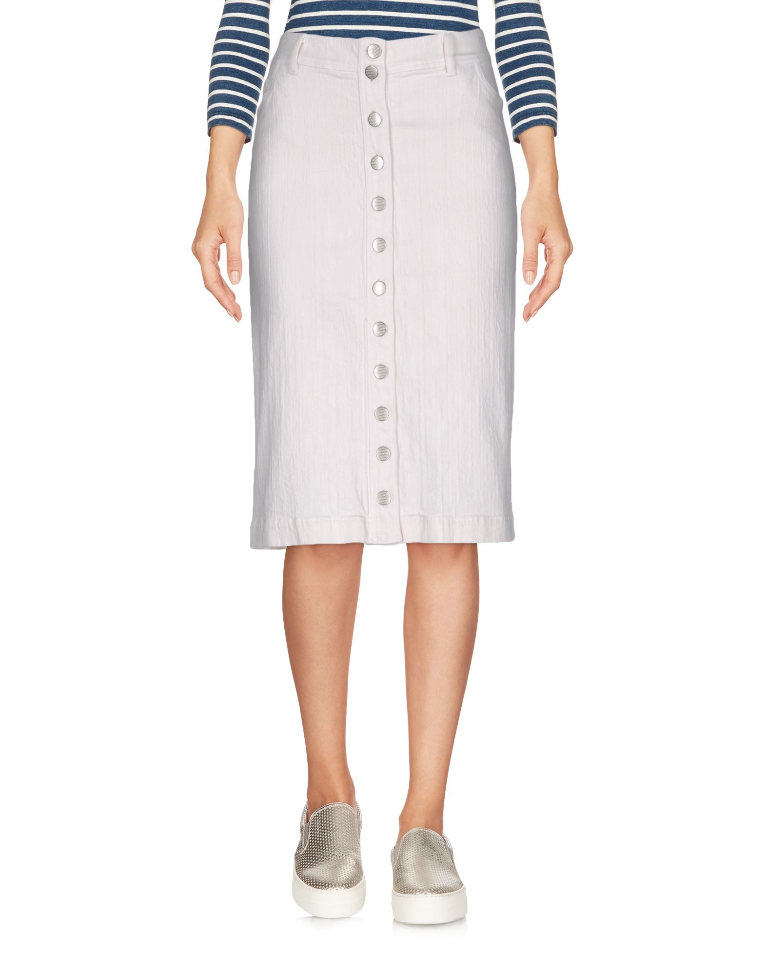 цена  ISABEL DE PEDRO Джинсовая юбка  онлайн в 2017 году