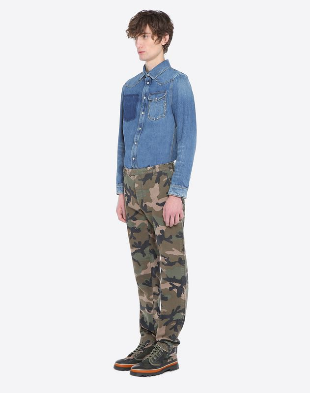 ID CAMOUFLAGE CHINOS