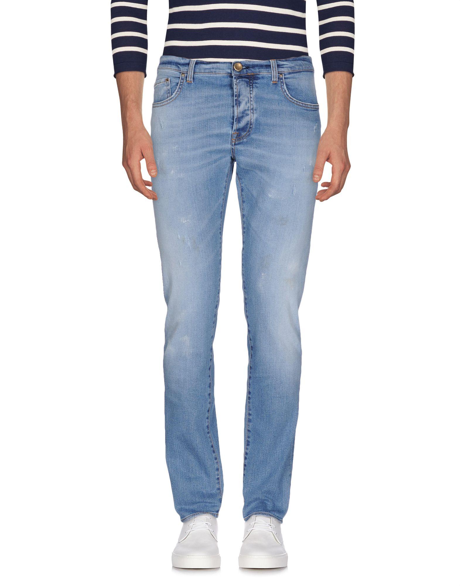 AGLINI Herren Jeanshose Farbe Blau Größe 7