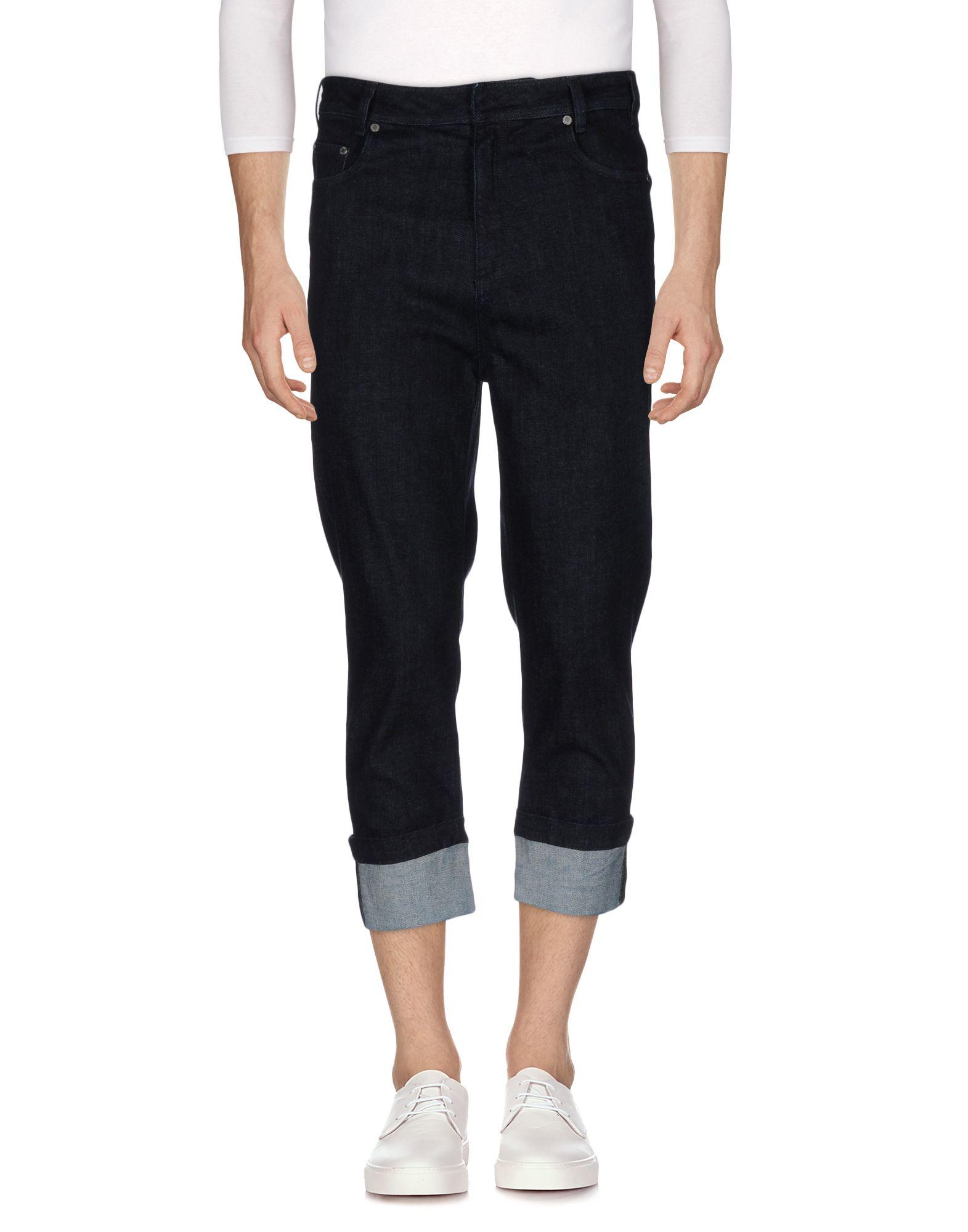 NEIL BARRETT Джинсовые брюки-капри футболка мужская neil barrett fa01 2015