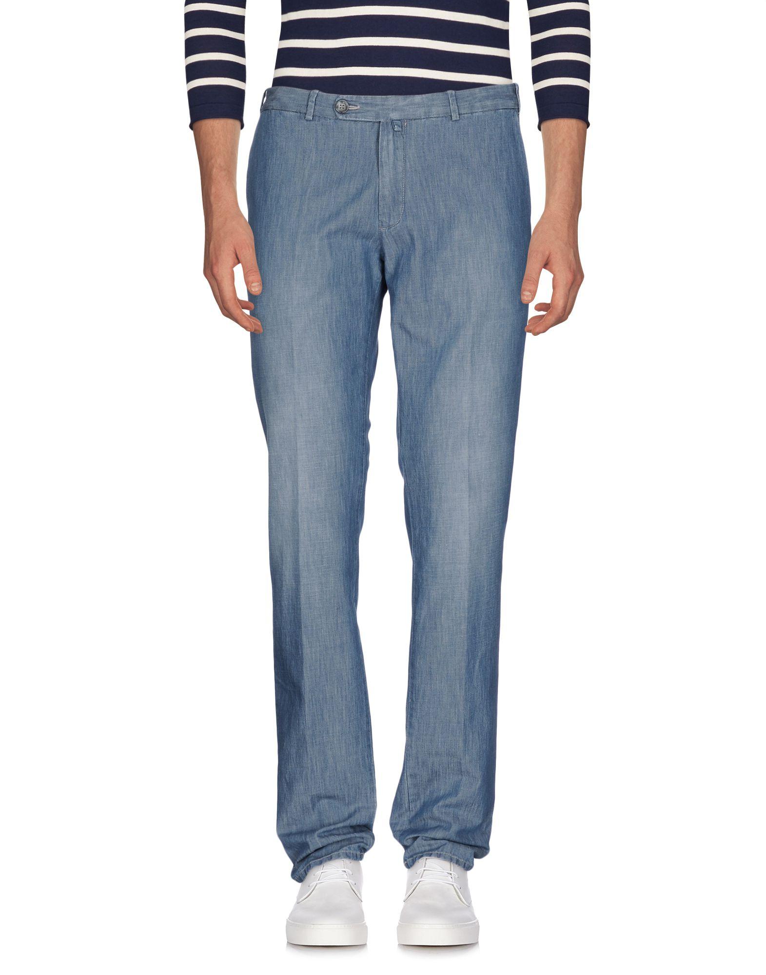 LUIGI BORRELLI NAPOLI Herren Jeanshose Farbe Blau Größe 6
