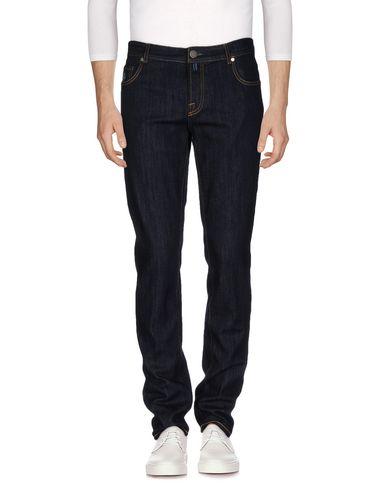Джинсовые брюки от LUIGI BORRELLI NAPOLI