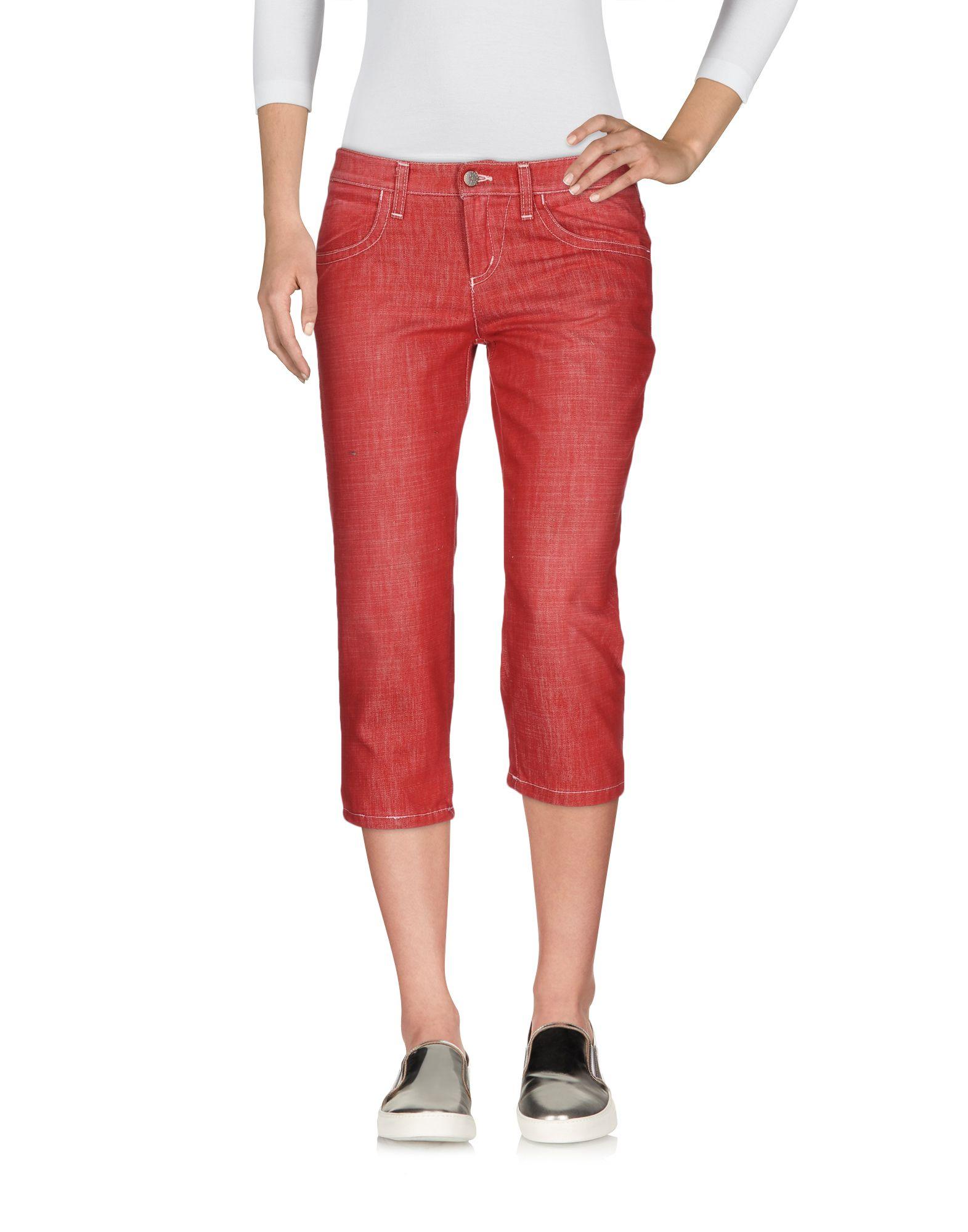 FRANKIE MORELLO Джинсовые брюки-капри start up джинсовые брюки капри