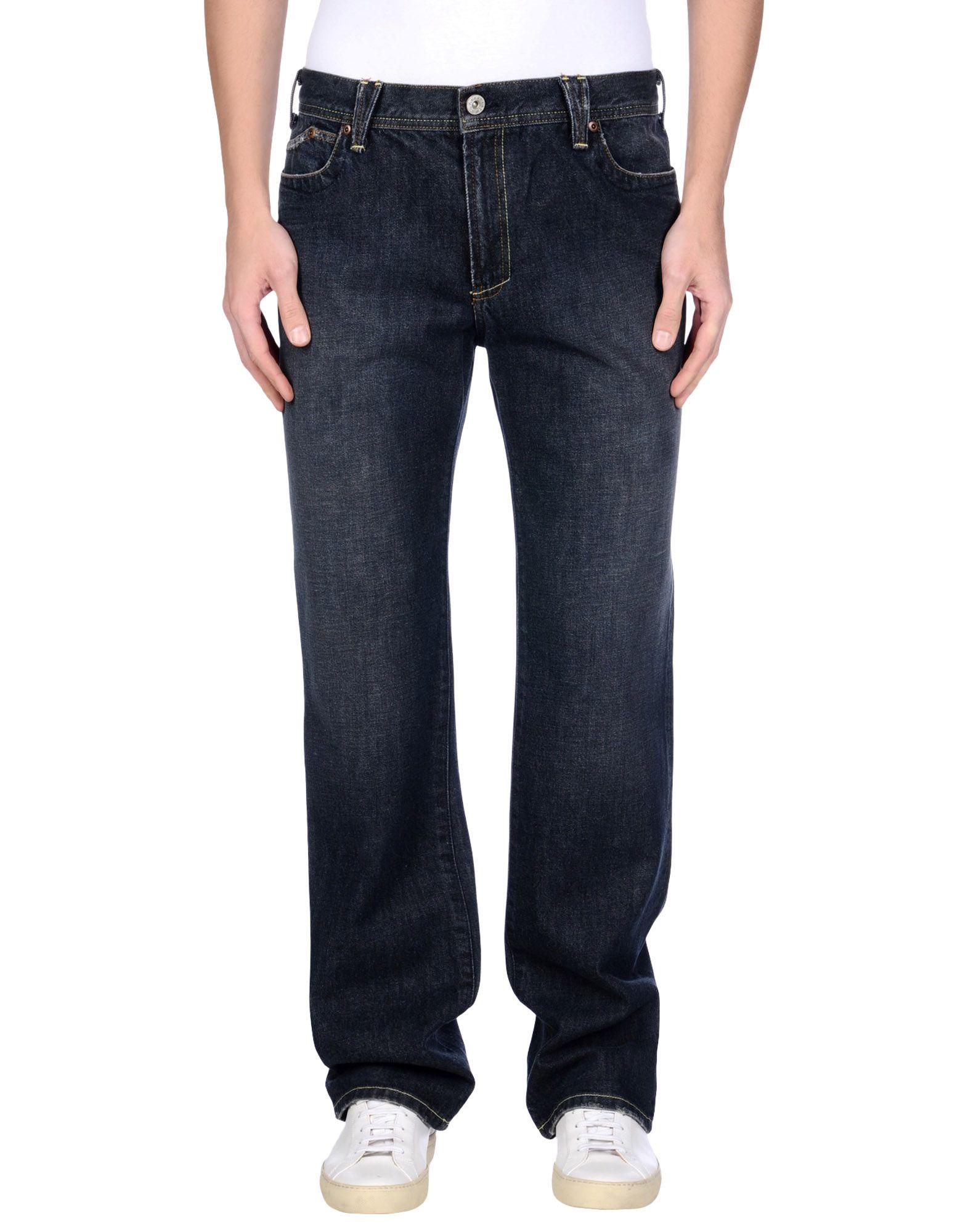 《送料無料》YANUK メンズ ジーンズ ブルー 33 コットン 100%