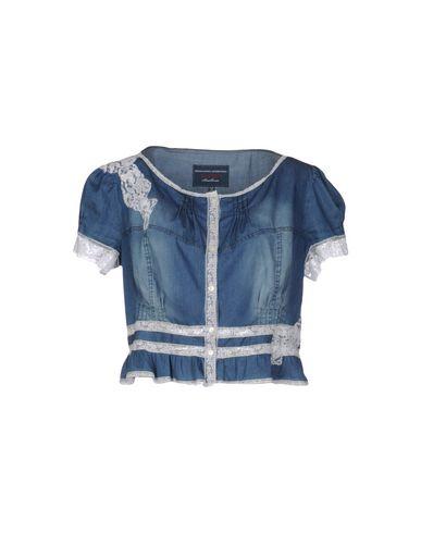 цена  ERMANNO SCERVINO BEACHWEAR Джинсовая рубашка  онлайн в 2017 году