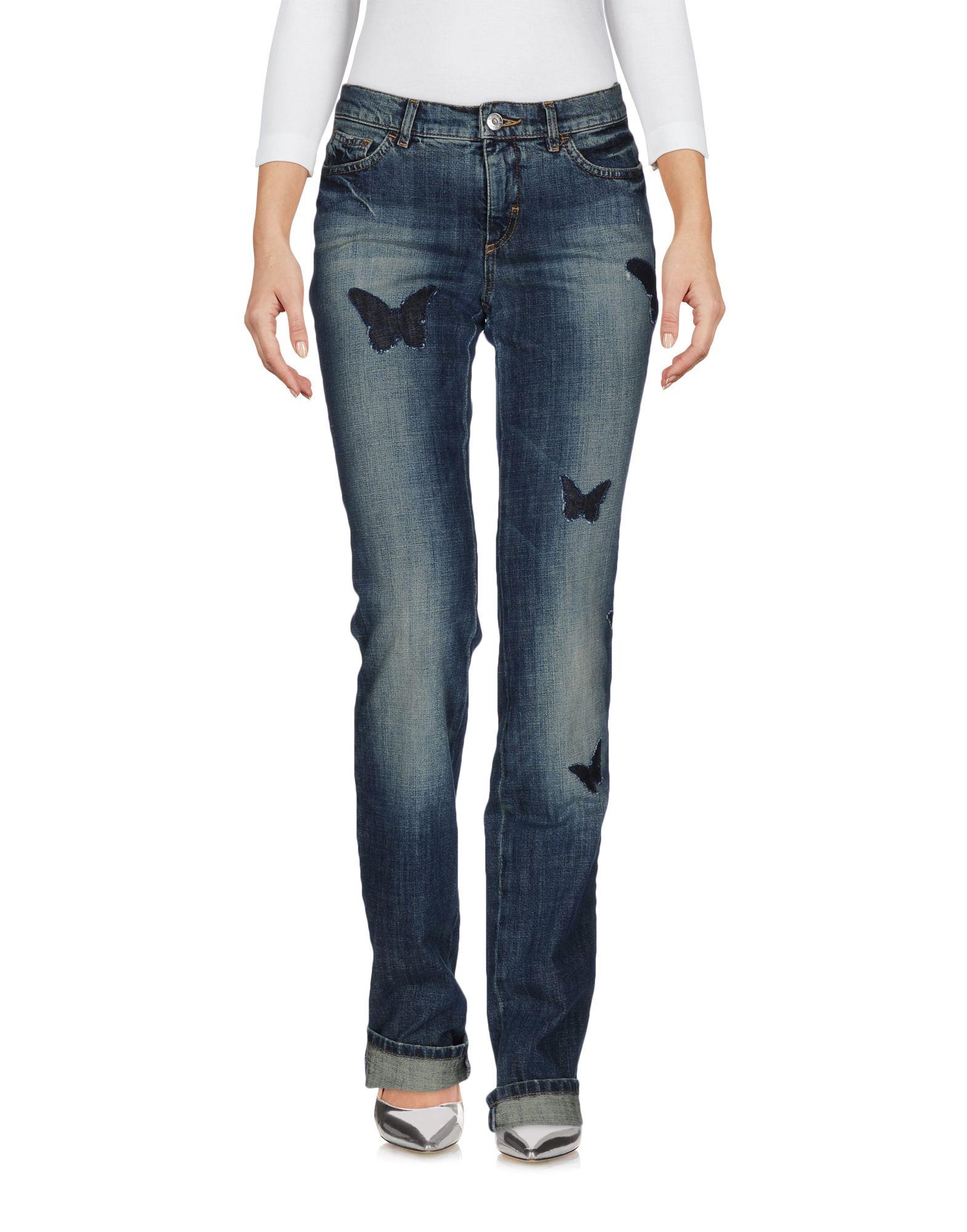 цена  KRIZIA JEANS Джинсовые брюки  онлайн в 2017 году