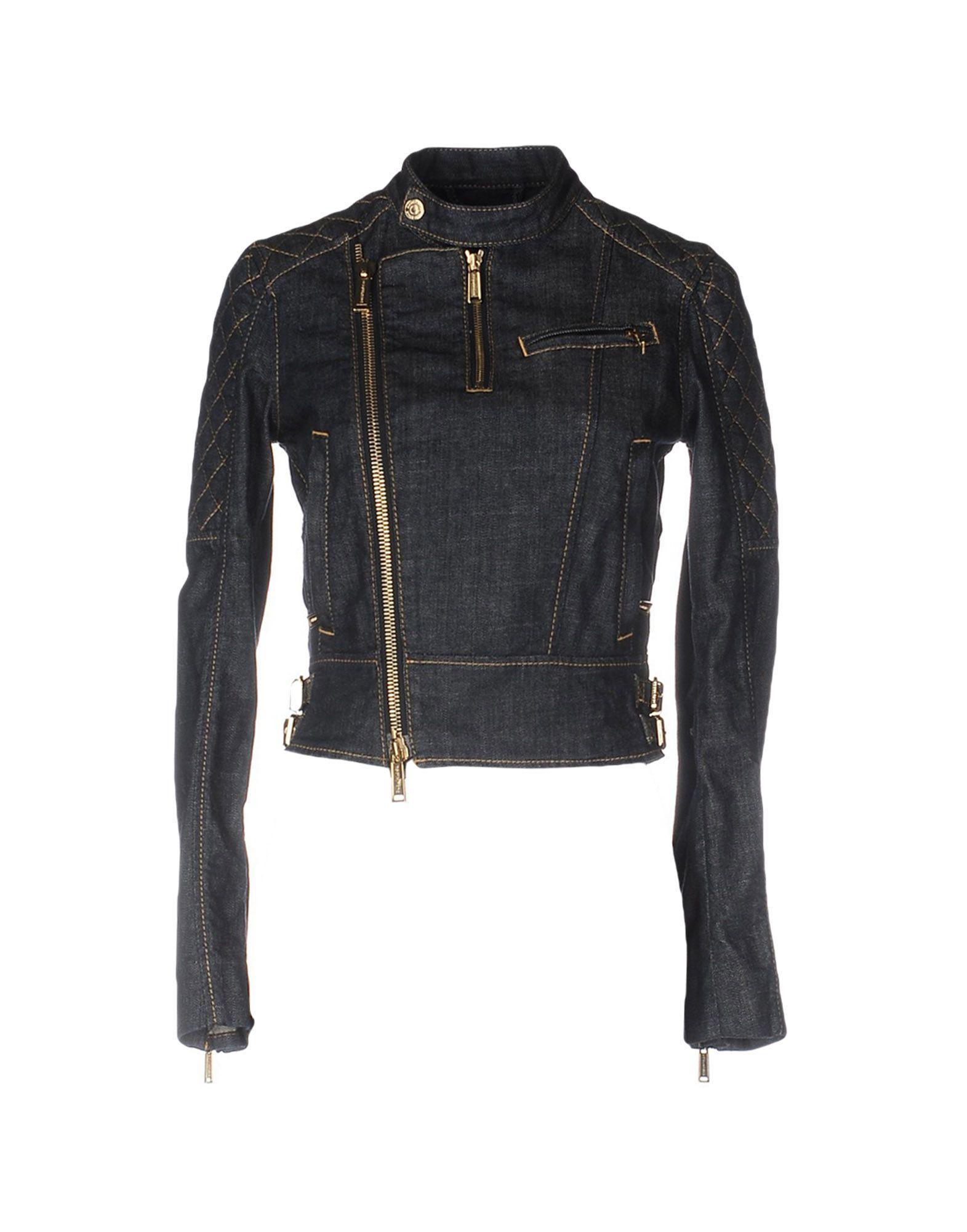 DSQUARED2 Джинсовая верхняя одежда кико верхняя одежда интернет магазин
