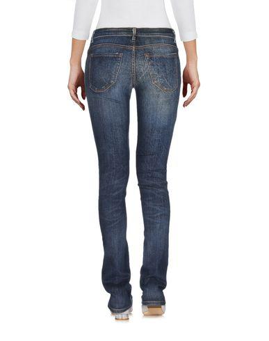 Фото 2 - Джинсовые брюки от SIVIGLIA синего цвета