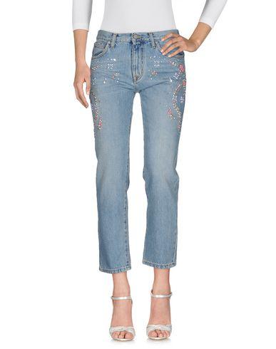 Джинсовые брюки MSGM 42562008JP