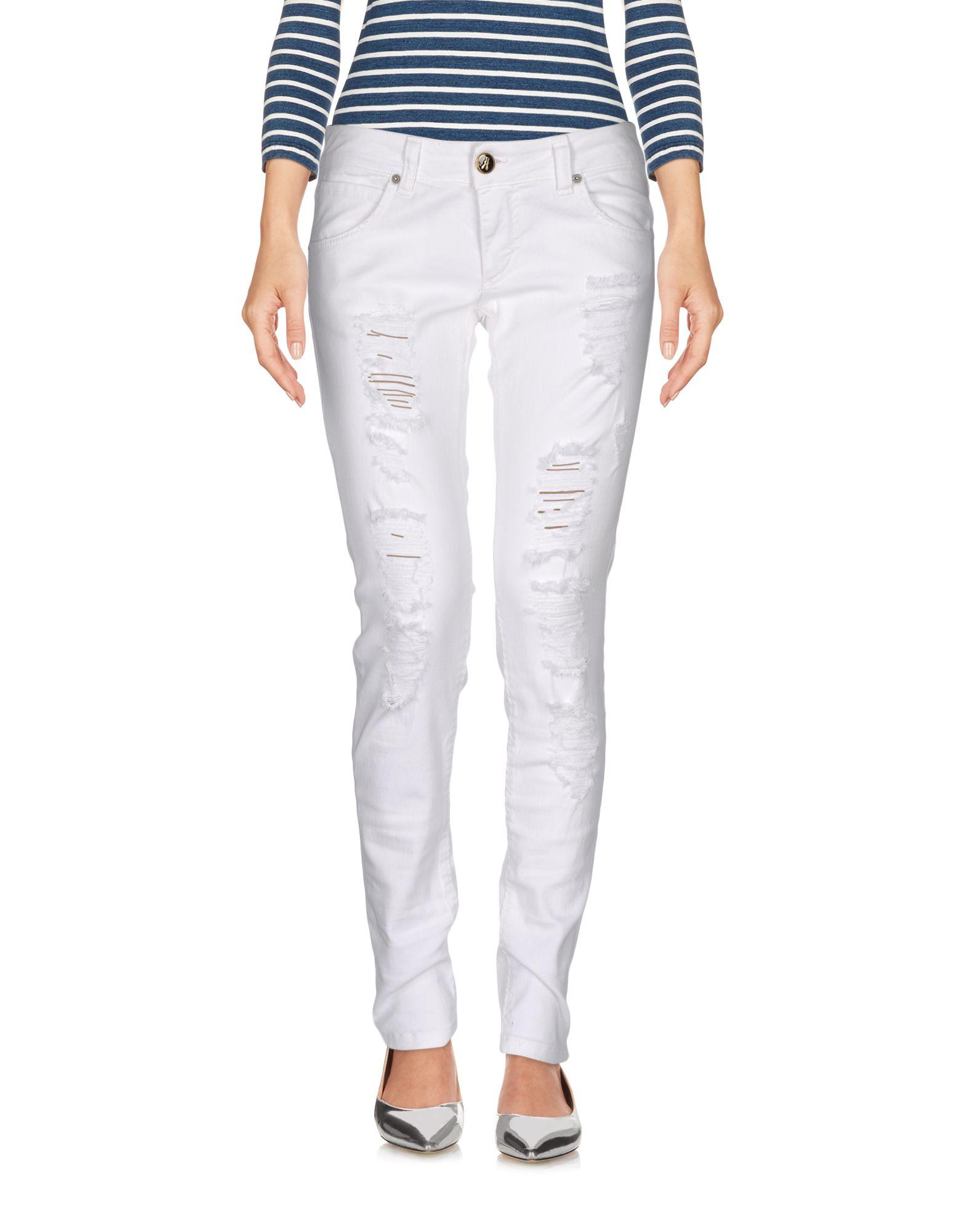 ANIYE BY Damen Jeanshose Farbe Weiß Größe 6