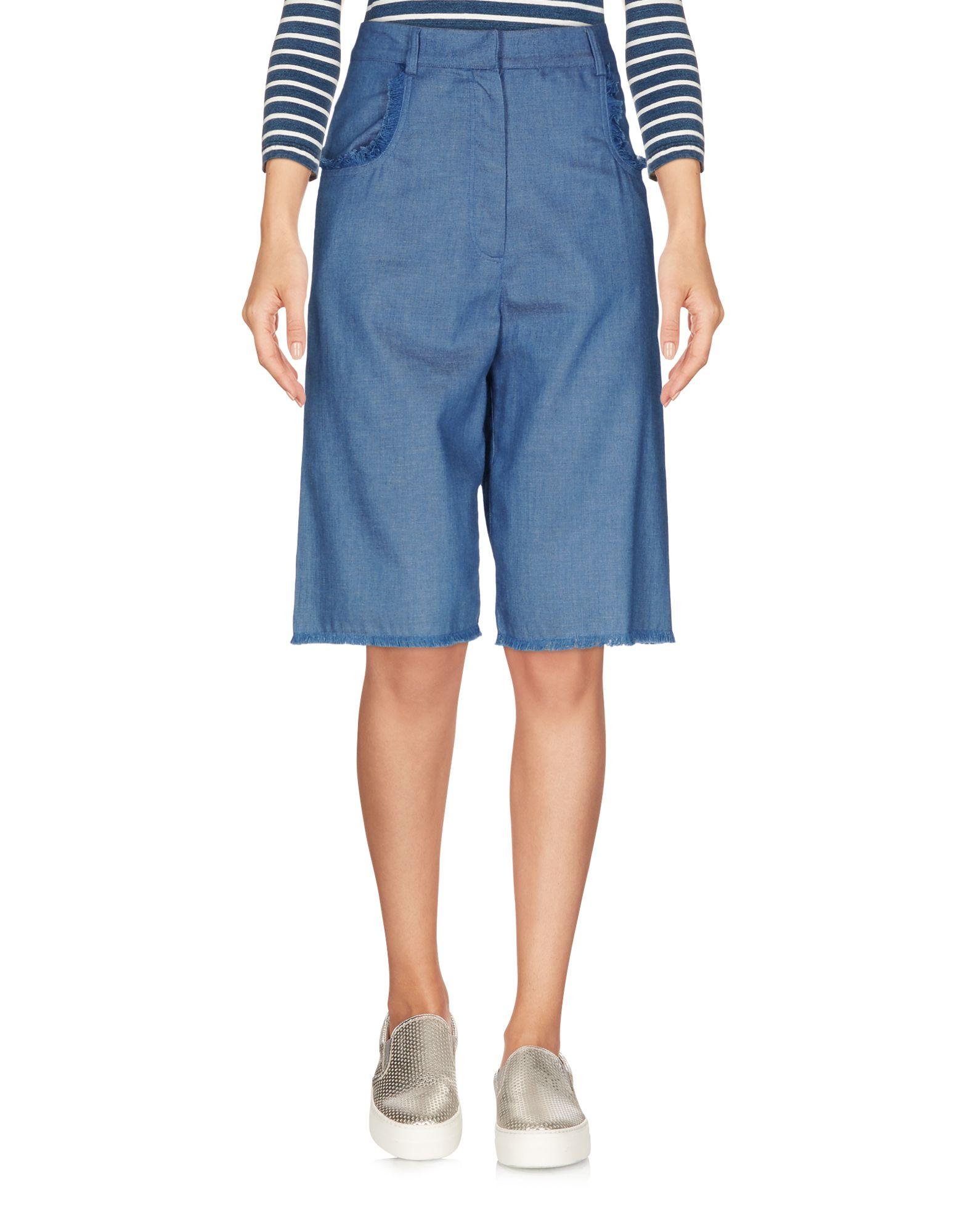 AMERICAN RETRO Denim Shorts in Blue