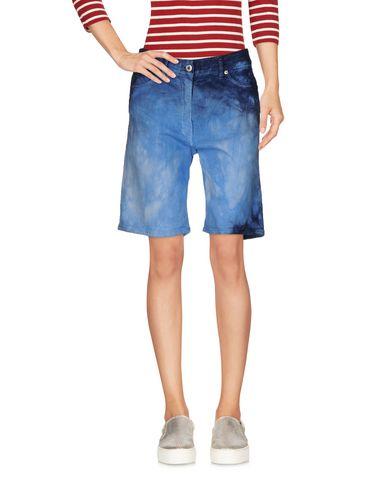 Pantaloni bermuda Azzurro donna DONDUP Bermuda jeans donna