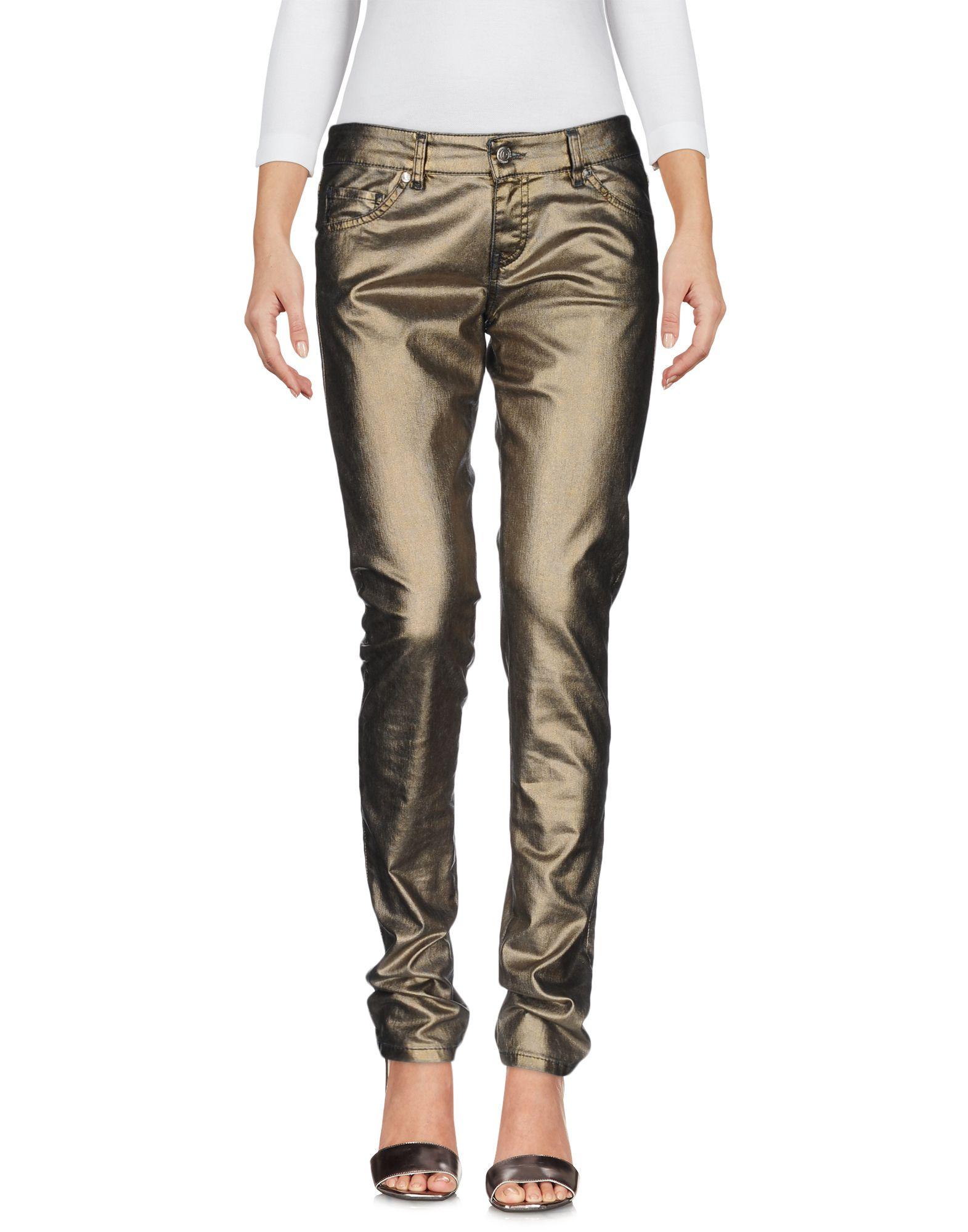 ФОТО pinko grey джинсовые брюки