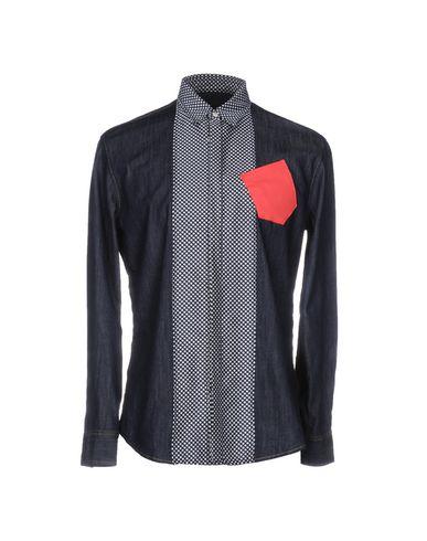 Джинсовая рубашка DSQUARED2 42564382OL