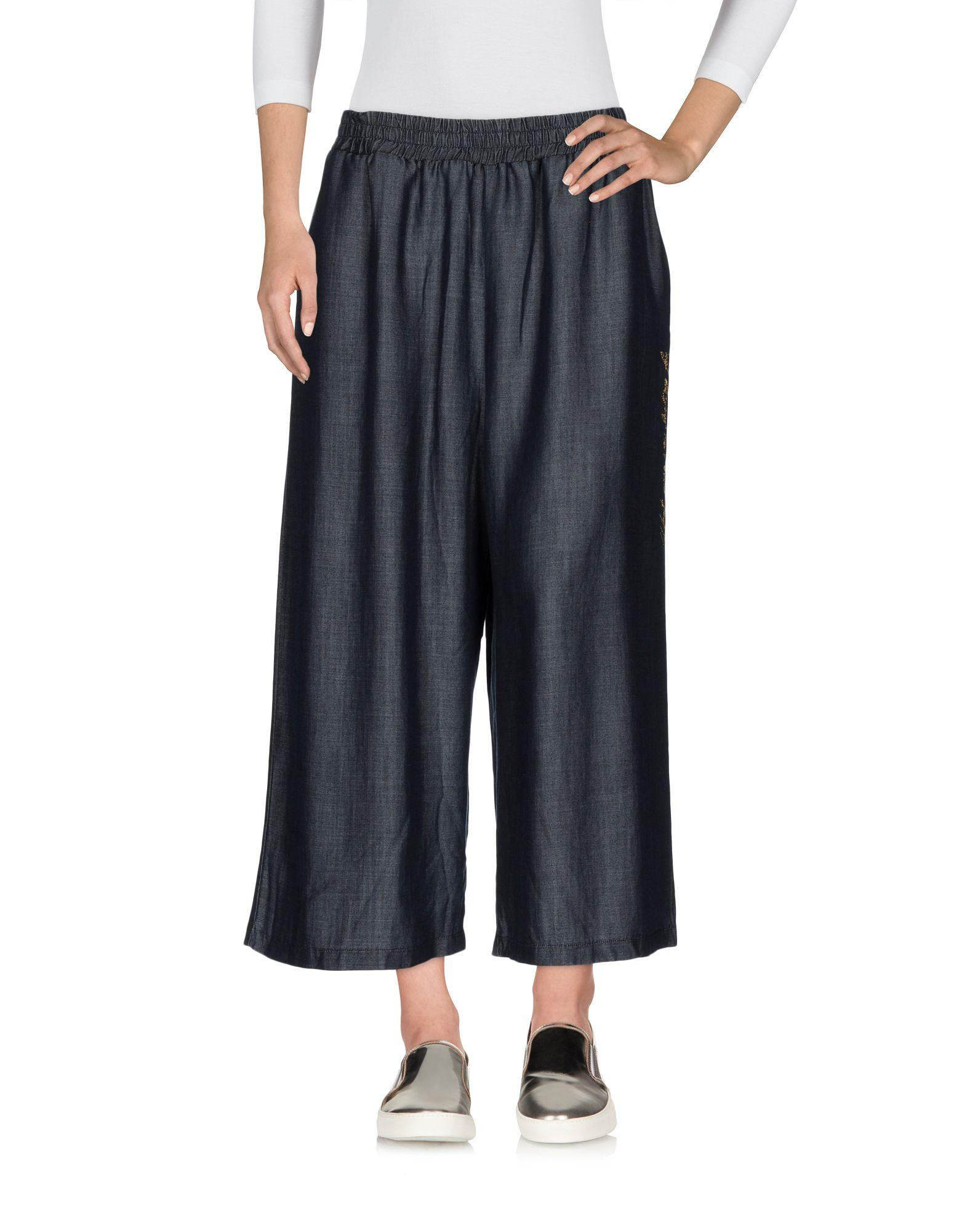 NOLITA Джинсовые брюки-капри