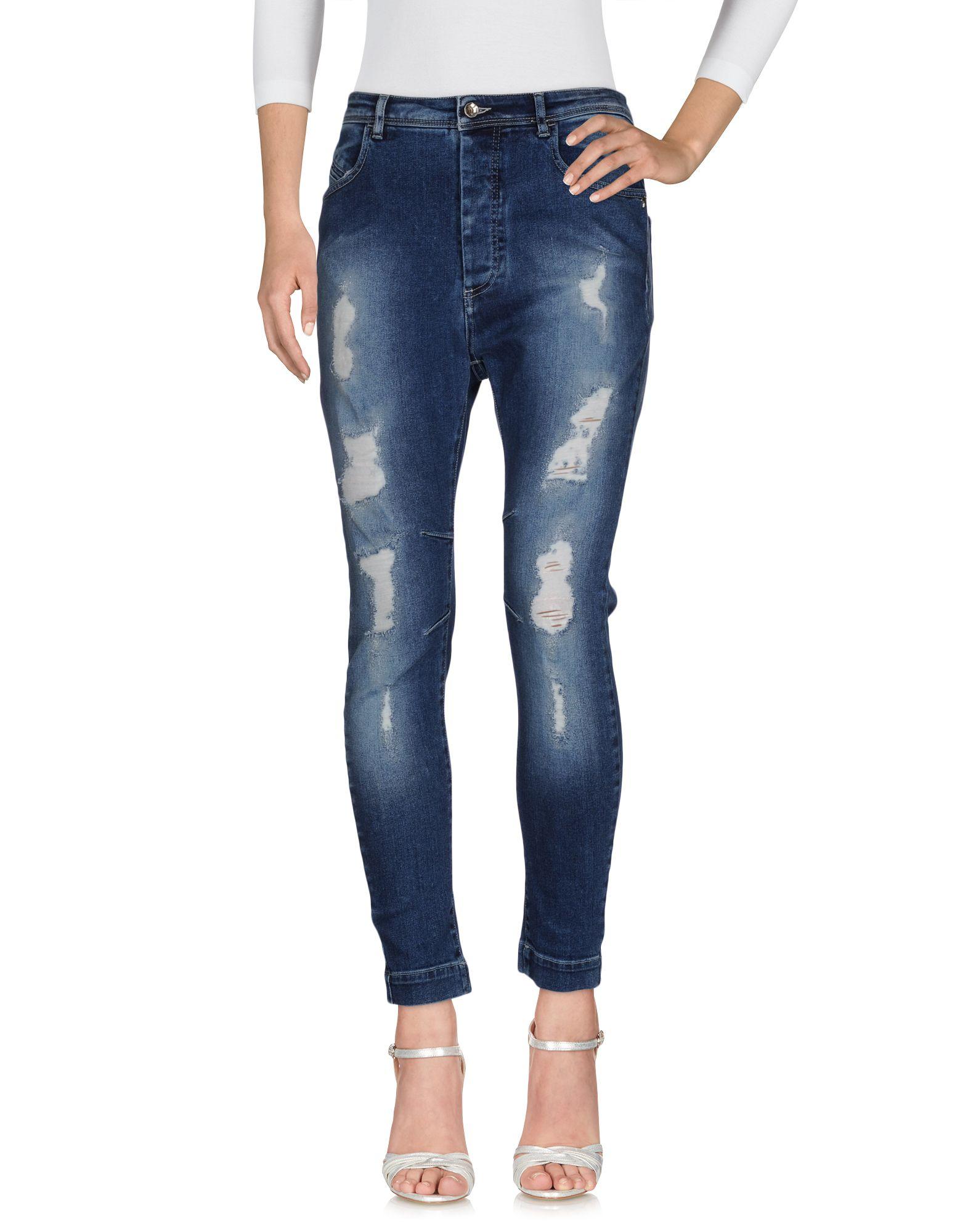 PATRIZIA PEPE Джинсовые брюки patrizia pepe обтягивающие брюки с 5 карманами из хлопкового габардина стрейч
