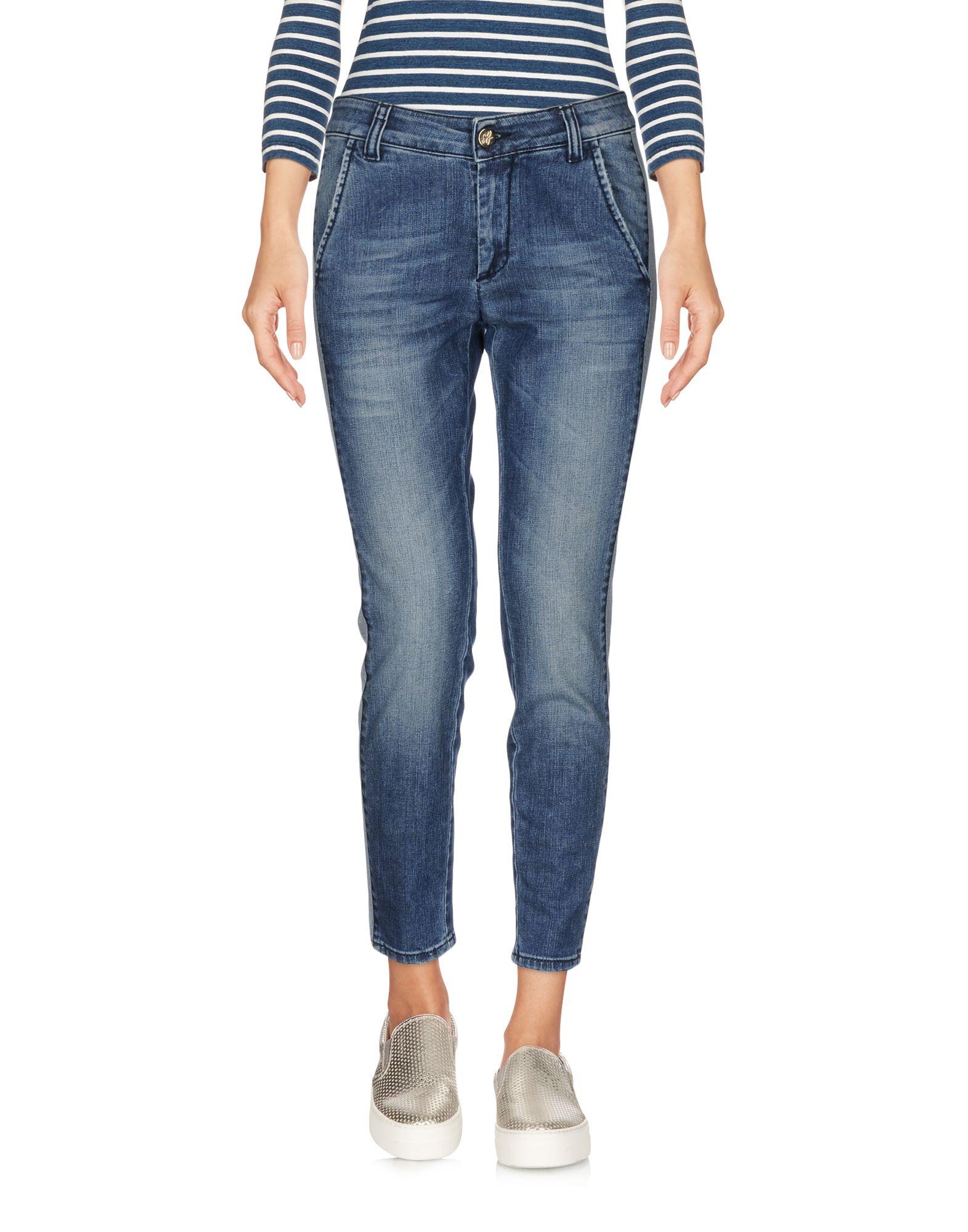 где купить  BB JEANS LONDON Джинсовые брюки-капри  по лучшей цене
