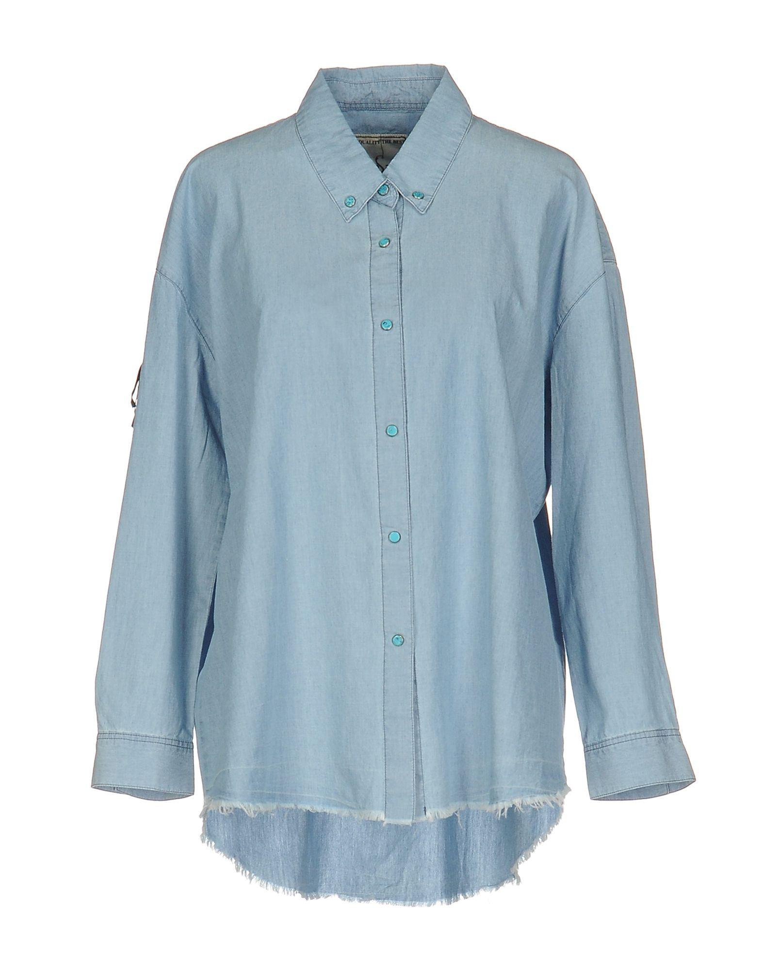 WHITE SAND 88 Джинсовая рубашка рубашка sand sand sa915emckes1