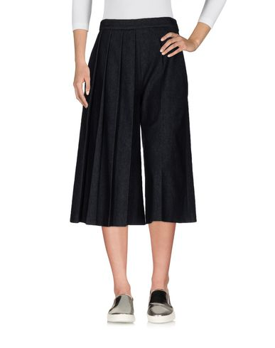 Джинсовые брюки-капри MSGM 42567721FN
