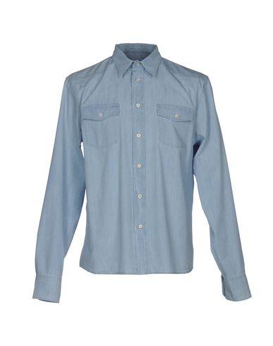Джинсовая рубашка PRADA 42567729VO