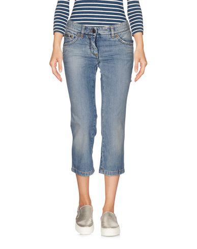 Джинсовые брюки-капри DOLCE & GABBANA 42568701DH