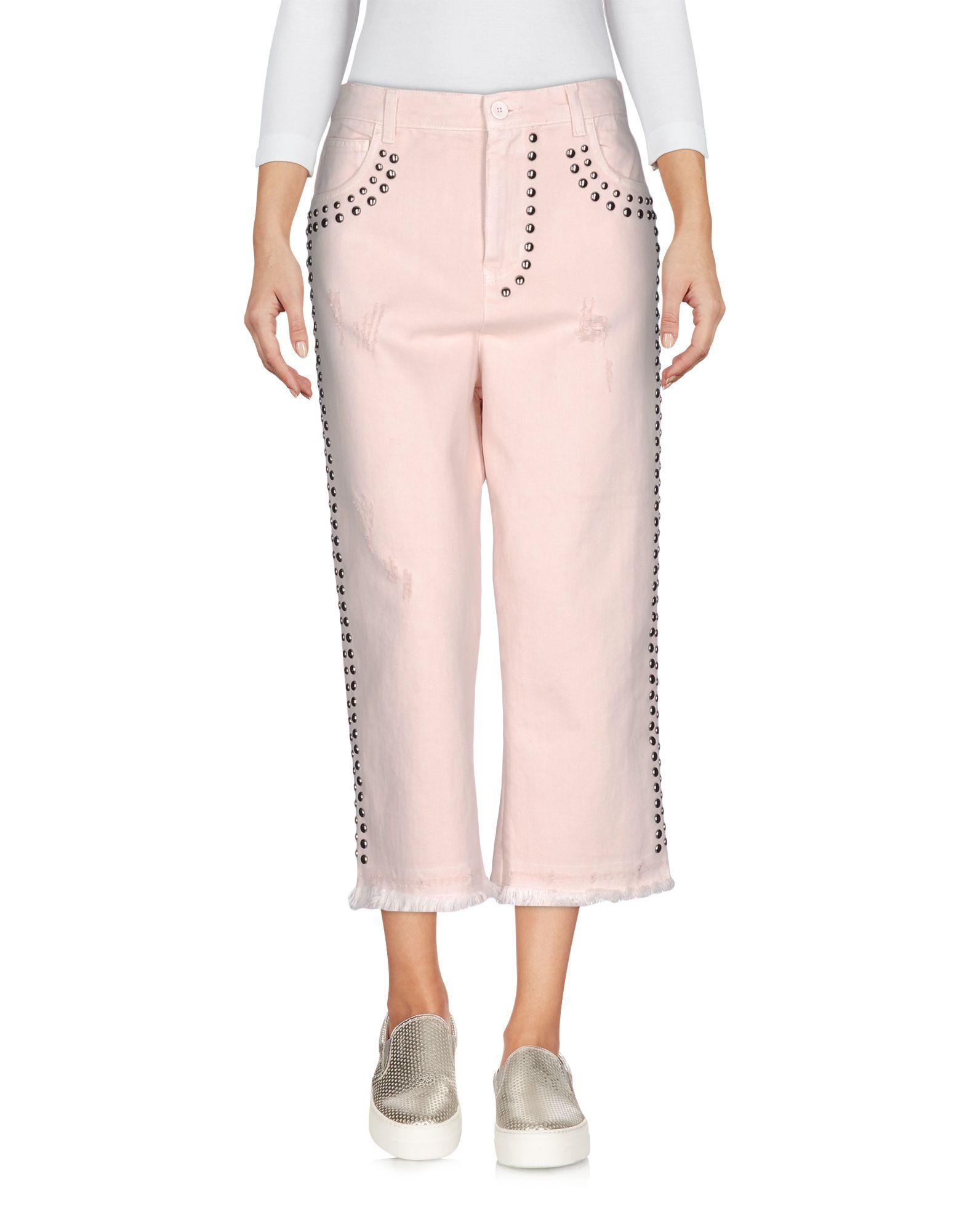 LANEUS Джинсовые брюки-капри start up джинсовые брюки капри