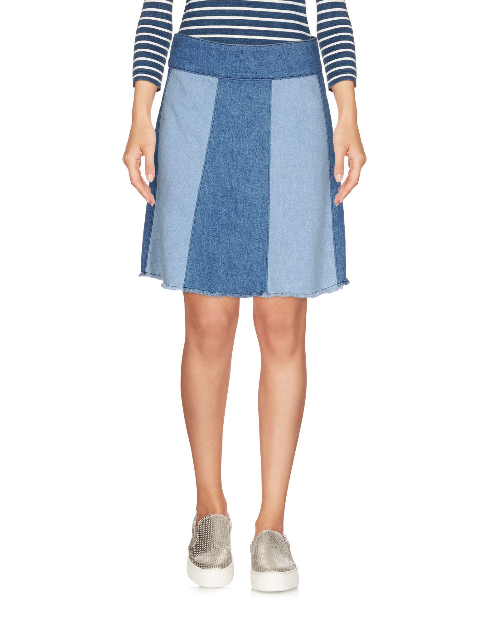 где купить JOVONNA Джинсовая юбка по лучшей цене