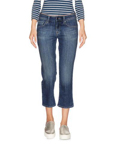 Джинсовые брюки-капри BURBERRY 42571370UD