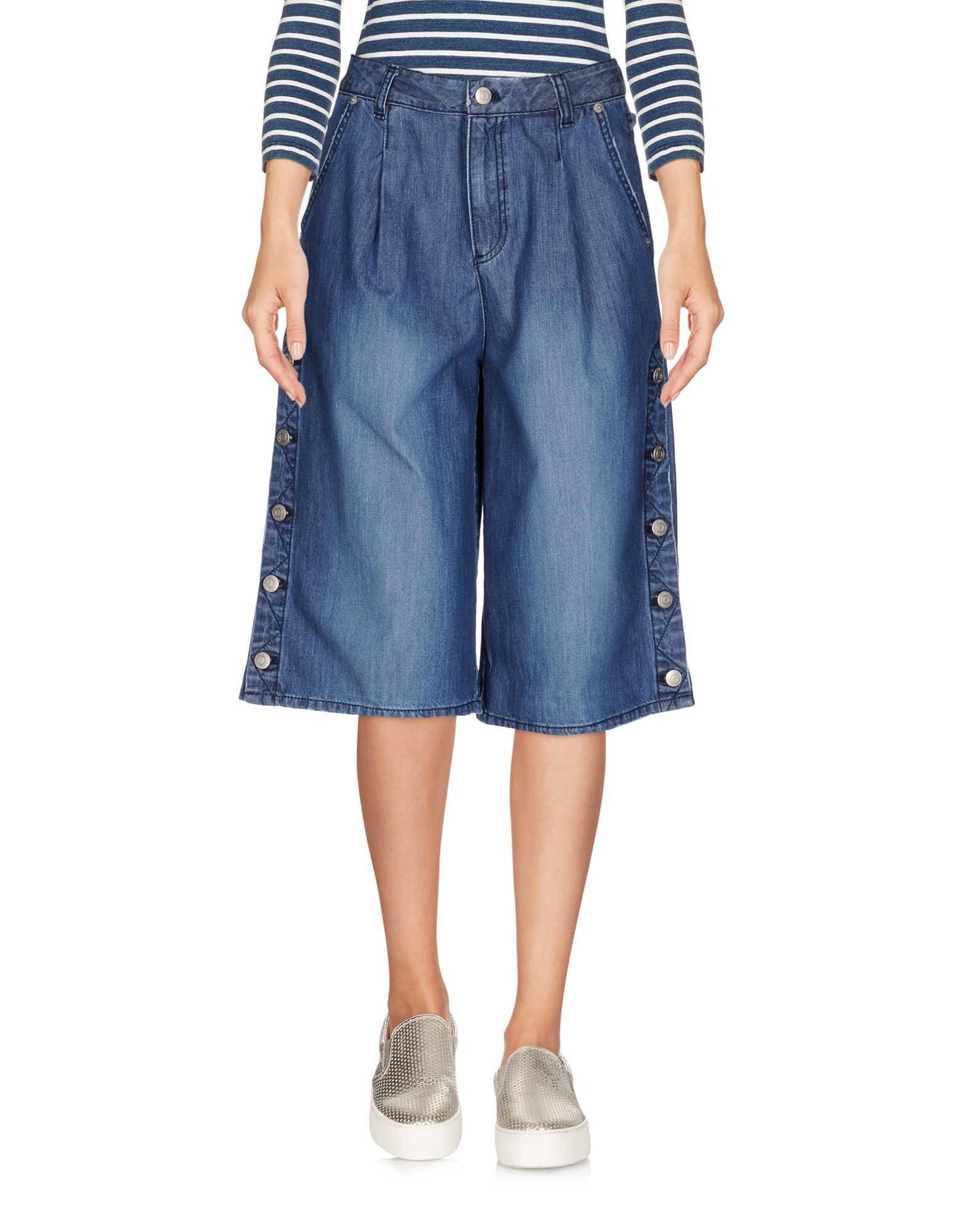 SJYP Джинсовые брюки-капри недорго, оригинальная цена
