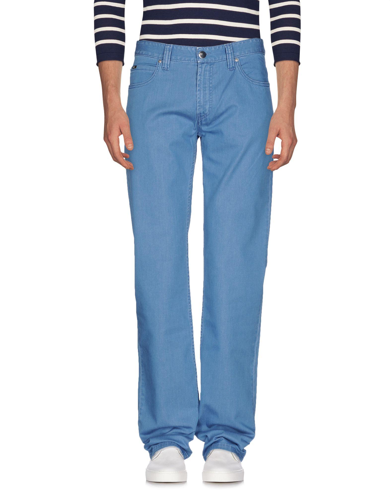 цена ARMANI COLLEZIONI Джинсовые брюки онлайн в 2017 году
