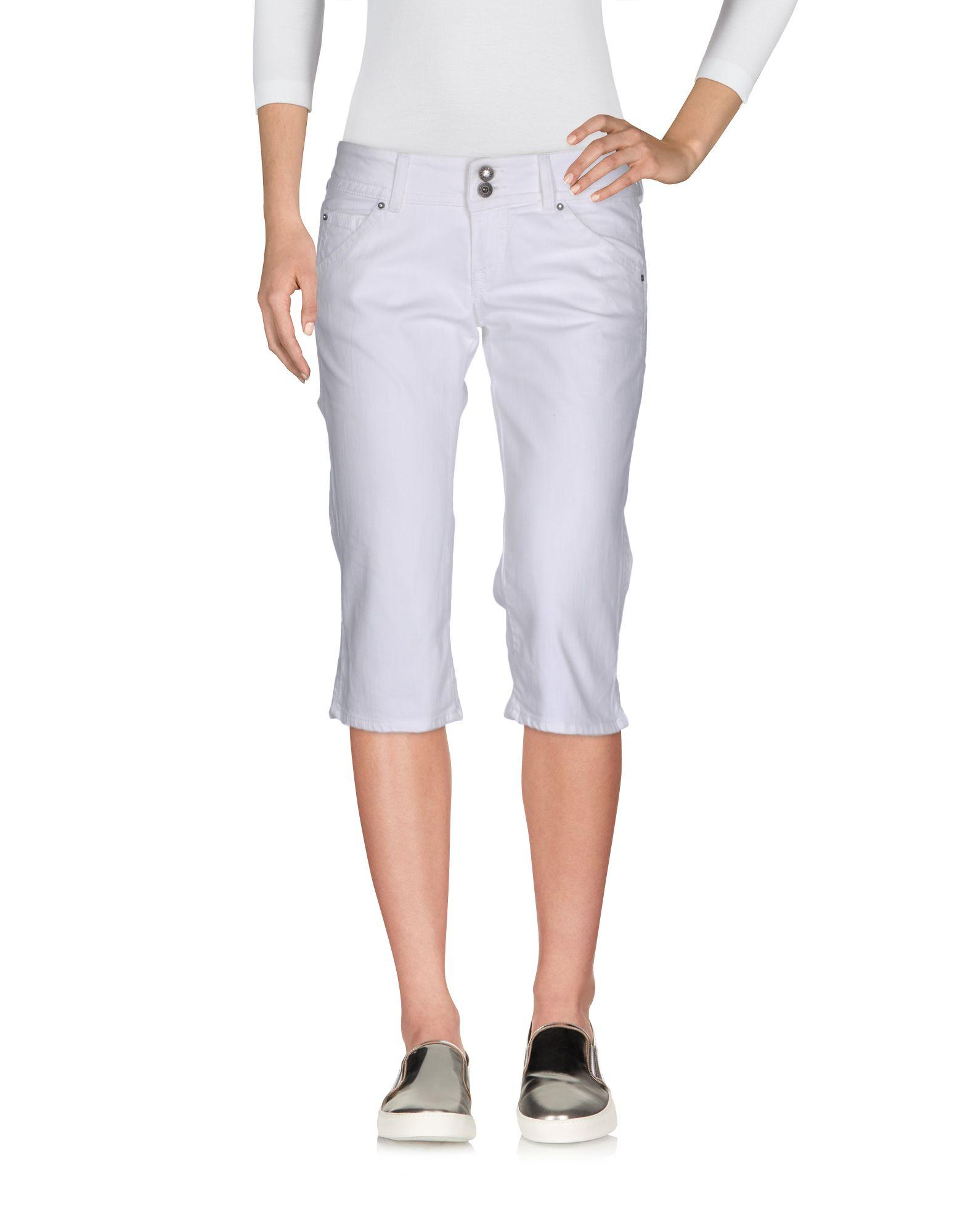 GUESS Джинсовые брюки-капри start up джинсовые брюки капри