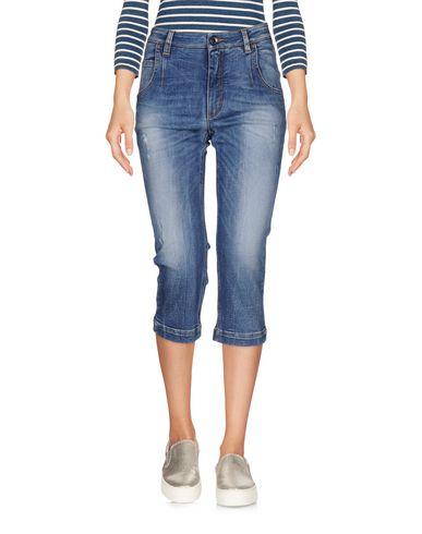 Джинсовые брюки-капри DOLCE & GABBANA 42573636VR