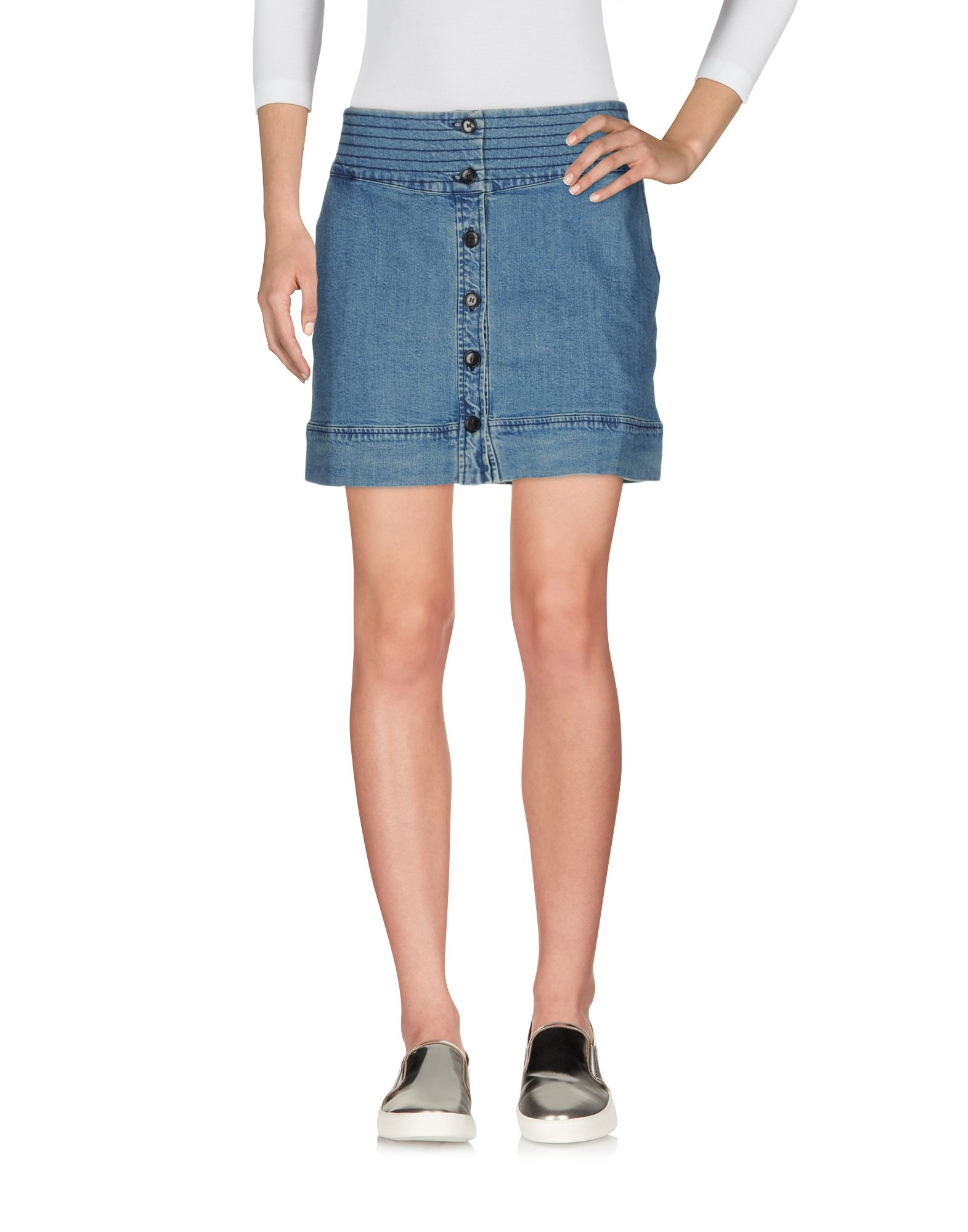 VANESSA BRUNO ATHE' Джинсовая юбка цена и фото