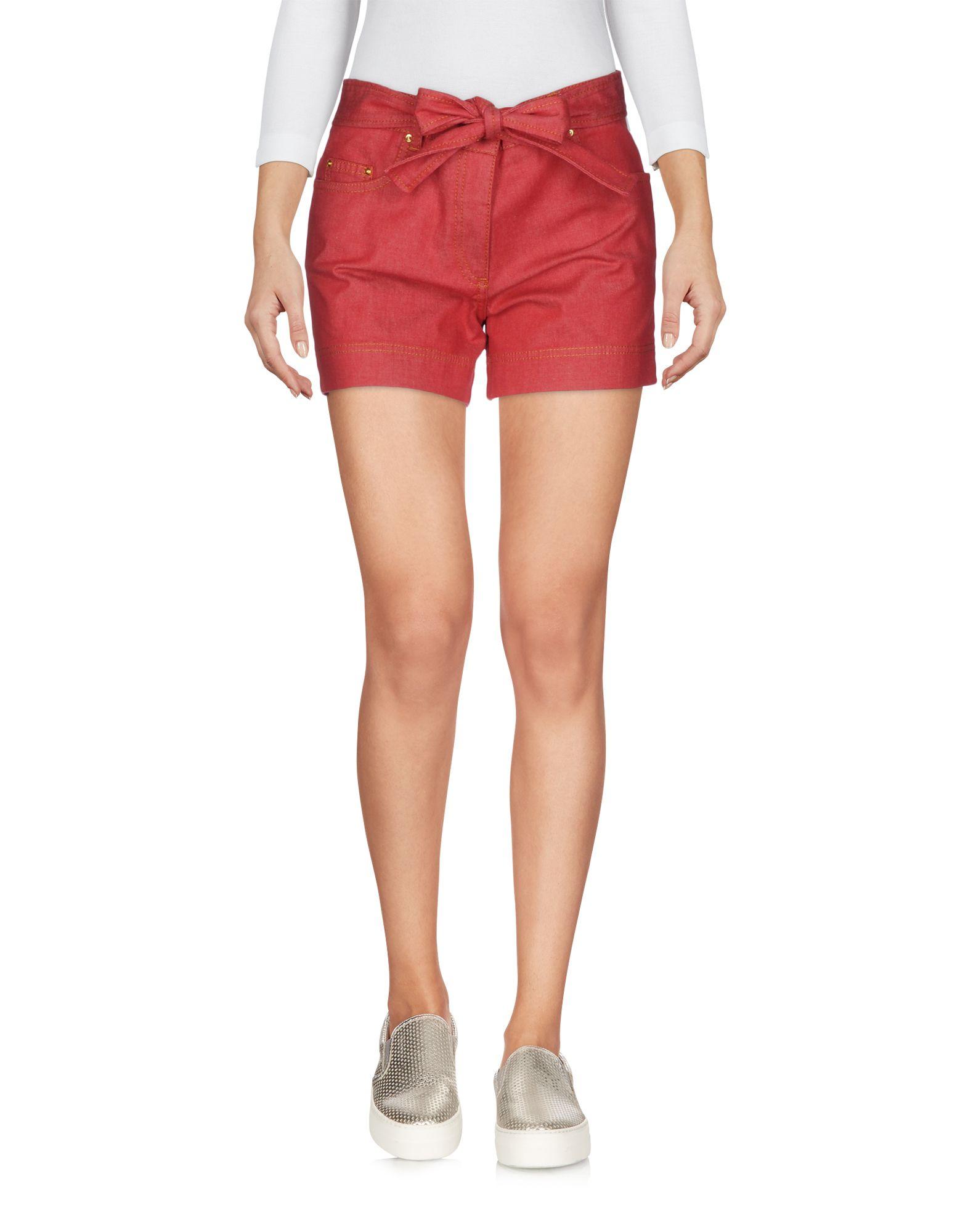 BOUTIQUE MOSCHINO Джинсовые шорты superfine джинсовые шорты