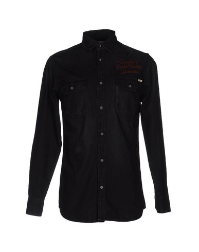 Джинсовая рубашка JACK & JONES VINTAGE 42574226WE