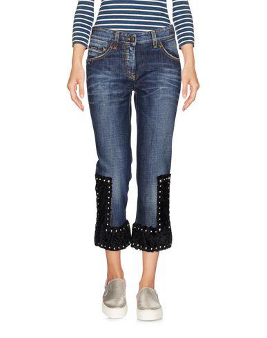 Джинсовые брюки-капри DOLCE & GABBANA 42574256SG