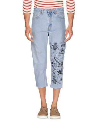 Джинсовые брюки-капри LEVI'S RED TAB 42574446LA