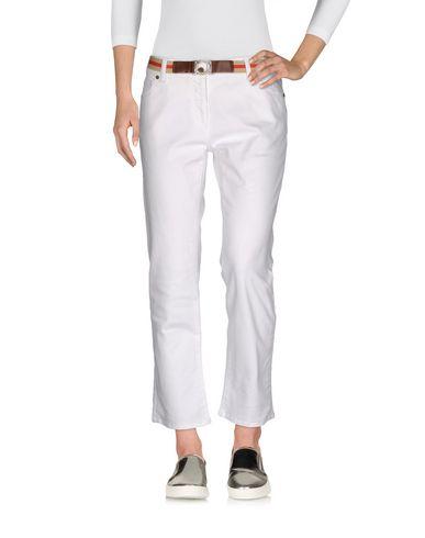 Джинсовые брюки-капри BURBERRY 42574836KL