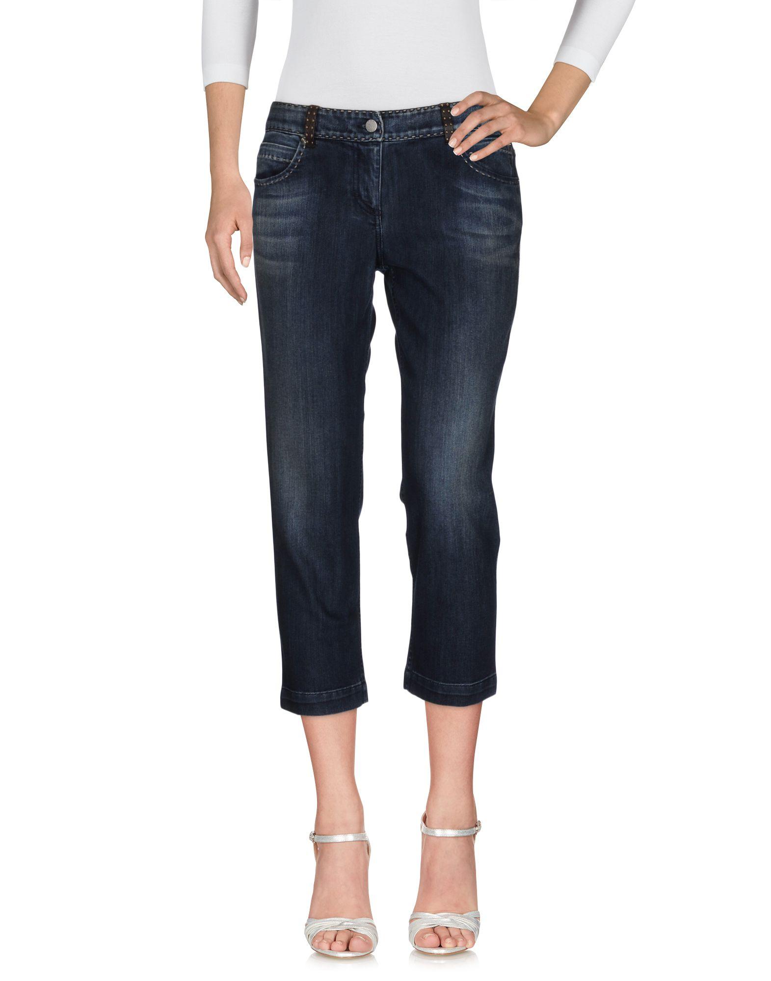 FENDI SELLERIA Джинсовые брюки