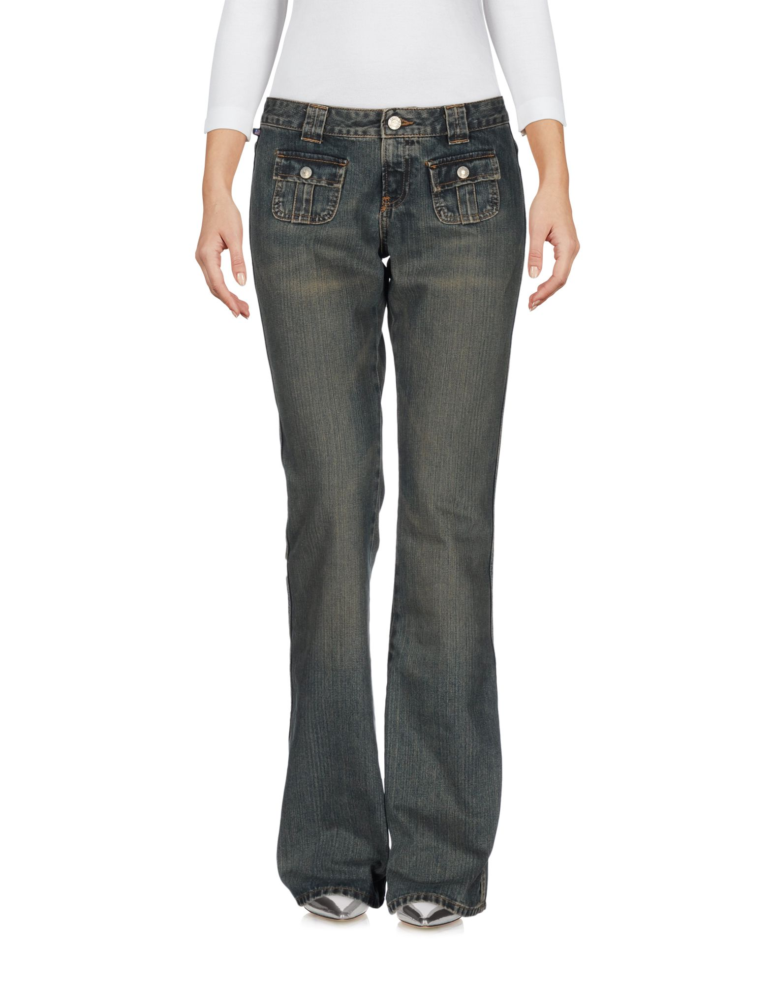 цена POLO JEANS COMPANY Джинсовые брюки онлайн в 2017 году