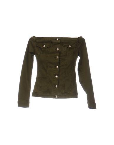 Verde militare donna PHILIPP PLEIN Capospalla jeans donna