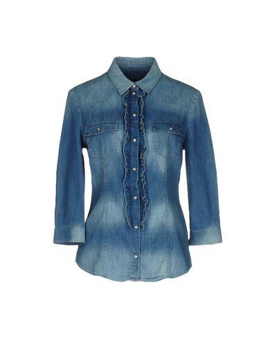 Джинсовая рубашка TRUSSARDI JEANS 42577148EH