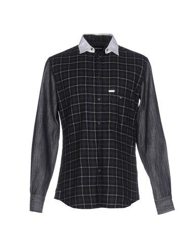 Джинсовая рубашка DSQUARED2 42577757FL