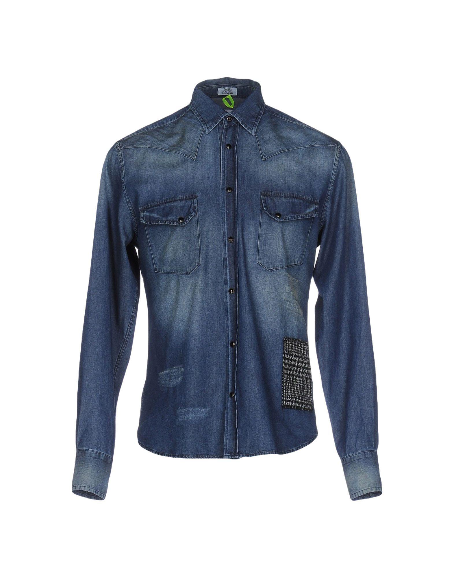 где купить MACCHIA J Джинсовая рубашка по лучшей цене